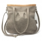 "Preview: Grosse Ledertasche Damen Umhängetasche Shelly Big ""STONE/CARAMELL"""