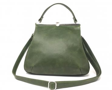 efbe8432d30d19 shop.kaa-berlin.de - Grüne Handtasche Leder Damen Umhängetasche