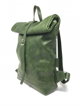 50-70% Rabatt Neue Produkte beste Qualität für Grüner Rucksack Leder Damen Lederrucksack